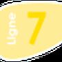 Indice de la ligne 7 à compter du 1 Septembre 2013.
