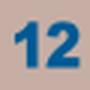 Indice de la ligne 12 entre Septembre 2006 et le 31 Août 2013.
