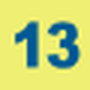 Indice de la ligne 13 entre Septembre 2006 et le 31 Août 2013.