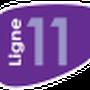 Indice de la ligne 11 à compter du 1 Septembre 2013.