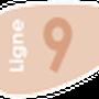 Indice de la ligne 9 à compter du 1 Septembre 2013.