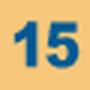 Indice de la ligne 15 entre Septembre 2006 et le 31 Août 2013.