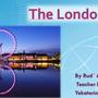 """Презентация учащегося 4а класса Рудь Андрея """"The London Eye"""", 2015."""