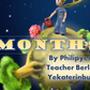 """Учебный проект Филипьева Дмитрия """"Months"""", 4 класс, 2014."""
