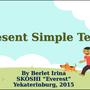 Present Simple Tense. Презентация к урокам в 4-6 классах.