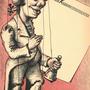 Die Plakatvorlage für den Schauspieldirektor