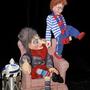 Frau Fasnacht und Noah, Figuren von Susi Hostettler