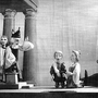 Erste Aufführung einer barocken Oper mit alten Instrumenten im September 1946