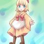 """<div class=""""lef"""">よその子だーれだ個別イラスト<br><a href=""""https://twitter.com/yuno101"""" target=""""_blank"""">ゆいちさん</a>のメアリちゃんです。<br>英国のお人形さんの付喪神です。ほんわか幼女かわいいです♪</div>"""