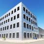 Neubau Bürogebäude mit Fertigung (Reinraum) und Technikgebäude (Industriebau)
