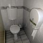 Sichtbar in Ordnung dagegen war diese Toilette.