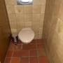 Frage: Was fehlt? Antwort: Die WC-Bürste!