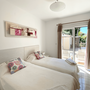 Bedroom 2 - upper floor - two single beds - can be converted to a double