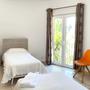 Schlafzimmer 5 - untere Etage - helles Zimmer mit Einzelbetten