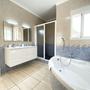 Bathroom 1 - upper floor - en Suite with bathtub, shower & toilet