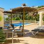 Lounge area on the pool terrace