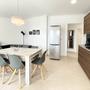 Wohnbereich mit Küchenzeile - unteres Apartment - ABAJO