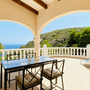 Private sun terrace - upper apartment - ARRIBA