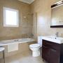 Badezimmer 3 - mit Badewanne & WC - oberes Apartment - ARRIBA