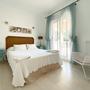Schlafzimmer 4 - mit Doppelbett - oberes Apartment - ARRIBA
