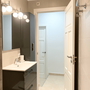 Bathroom 2  - with shower & toilet - lower apartment - ABAJO