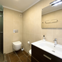 Bathroom 1 - en suite with shower & toilet - lower apartment - ABAJO