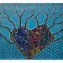 44: PU'UWAI HAIPULE - Aus dem Herzen geborene Träume / 2016 / Mischtechnik auf Papierkarton / 100x70 - Original CHF 2000