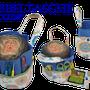 Bobbeltasche, Bobbelbag, Bobbel, Farbverlaufsgarn, Wollini, Ebook, E-Book, eBook, Knooking-Bag, Handarbeitstasche, Wolltasche, Strickkorb