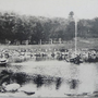 1930-1935 | Пруд с фонтаном в парке у Кarafuto jinja (Юго-Восток)