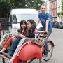 Singin'in the bike. Interactive sound project