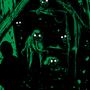 お題「闇の魔獣」 「吹雪の夜」