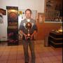 Sieger des Dartturnieres: Fred Goldhacker