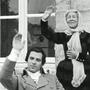 """Claude Giraud et Hélène Dieudonné (Célestine) dans """"Les compagnons de Jéhu"""""""
