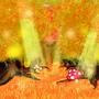 """妖精の森(専門学校課題で使用しなかった背景)(7月)""""30分 Photoshop"""""""
