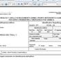 La scheda di rilievo compilata automaticamente dal sistema