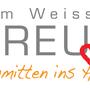 """Das Restaurant Weisses Kreuz in Schmitten wollte mit einem Werbespruch die lokale Verankerung und die Liebe zum Dorf ausdrücken. Unser Slogan dazu: """"Schmitten ins Herz."""""""