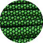Paracord neon green Diamond