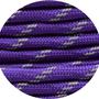 Paracord reflektierend purple