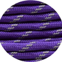 Paracord reflektierend purple