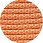 Paracord crem international / orange Diamond