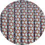Paracord chocolate brown / baby blue Diamond