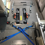 リクライニング車椅子 固定装置一式