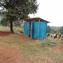 Alte Toilette und Waschraum