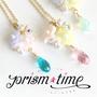 prism☆time https://twitter.com/prism_time キラキラ輝く時間をあなたに…☆スワロフスキーをメインに、キラキラなアクセサリーを制作しています。