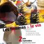Création de l'affiche de l'exposition Les femmes et le vin (Restaurant In Vino. exposition d'Anne Castaner et Karine Girault)