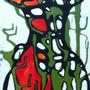 Acrylique sur bois. 30 X 80 cm