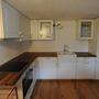 Küche Landhausstill mit Massivholzabdeckung