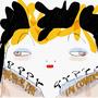 """Corona-Fashionista"" digitale Zeichnung"