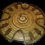 HADACO en bois - noyer (sans marteau)