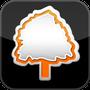 Icône d'accès Orange Nature